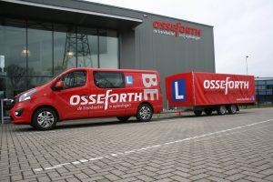 Haal jouw rijbewijs BE bij Osseforth Opleidingen
